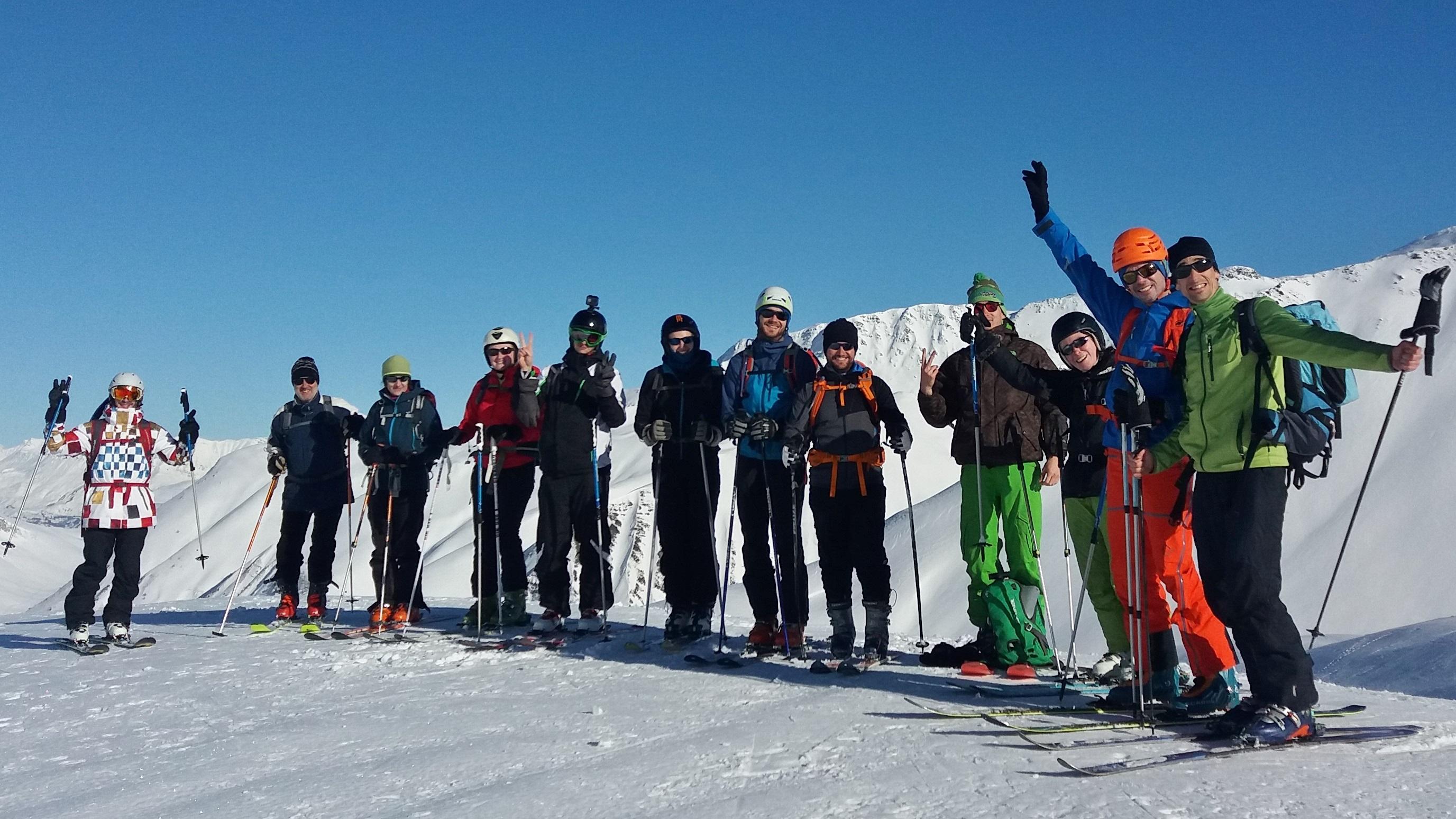 Initiation Ski de rando – Section Montagne – AS CEAST Grenoble